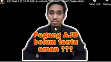 Photo of Pegang AJB Tanah belum Tentu Aman?