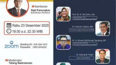 Photo of Kahmi Gelar Webinar Nasional Catatan Kahmi Perjalanan Bangsa