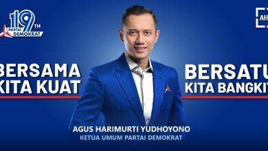 Photo of Tolak Demokrat Versi KLB, AHY Berterimakasih ke Jokowi