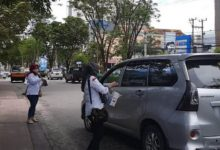 Photo of Asperda Balikpapan Bagi Masker Gratis