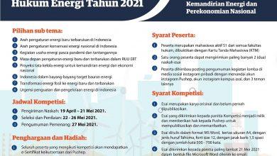 Photo of Pushep Ajak Mahasiswa Indonesia Ikut Kompetisi Esai Hukum Energi