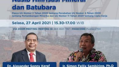 Photo of Nasib Hilirisasi Mineral dan Batubara Pasca UU No 3 Tahun 2020