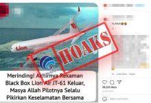 Photo of Rekaman Suara Percakapan Pilot Lion Air JT-610 Keluar