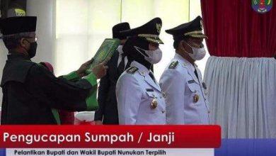 Photo of Asmin Laura-Hanafiah Resmi Dilantik jadi Bupati Nunukan